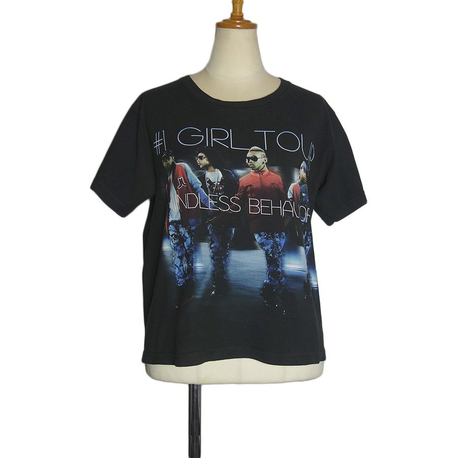 ツアーTシャツ MINDLESS BEHAVIOR